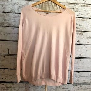 OneA pink long sleeve top